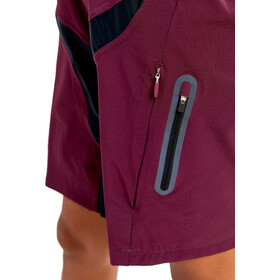 Craft Hale XT Pantaloncini Donna, hickory/black